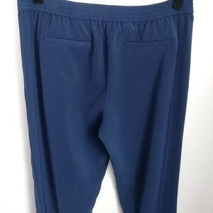 Halogen | Navy Ankle Zipper Pants